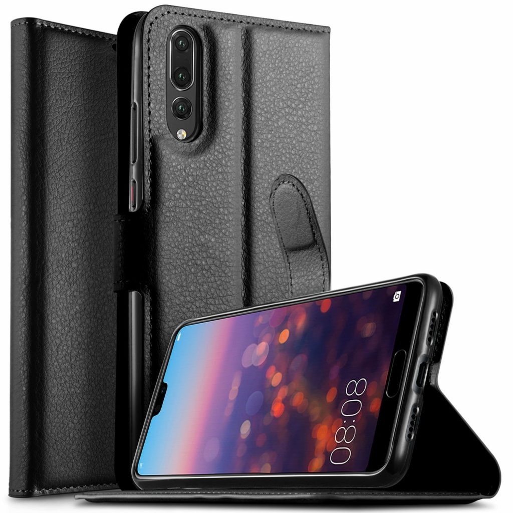 save off 0695f 9b045 Huawei P20 Pro Plain Book Flip Cases
