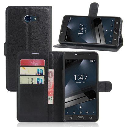online retailer 1e46f f805d Vodafone Smart Ultra 7 Plain Book Flip Cases