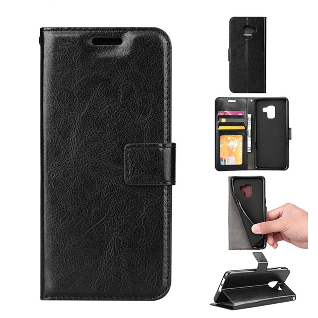 detailed look 979a8 b141c Samsung Galaxy A8 2018 Plain Book Flip Cases – Mobile Phone Cases ...