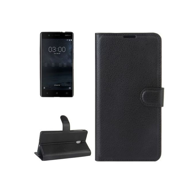 For Nokia 2 New Stylish Premium Leather Wallet Phone Stand Case Cover Cell Phone Accessories Cases, Covers & Skins