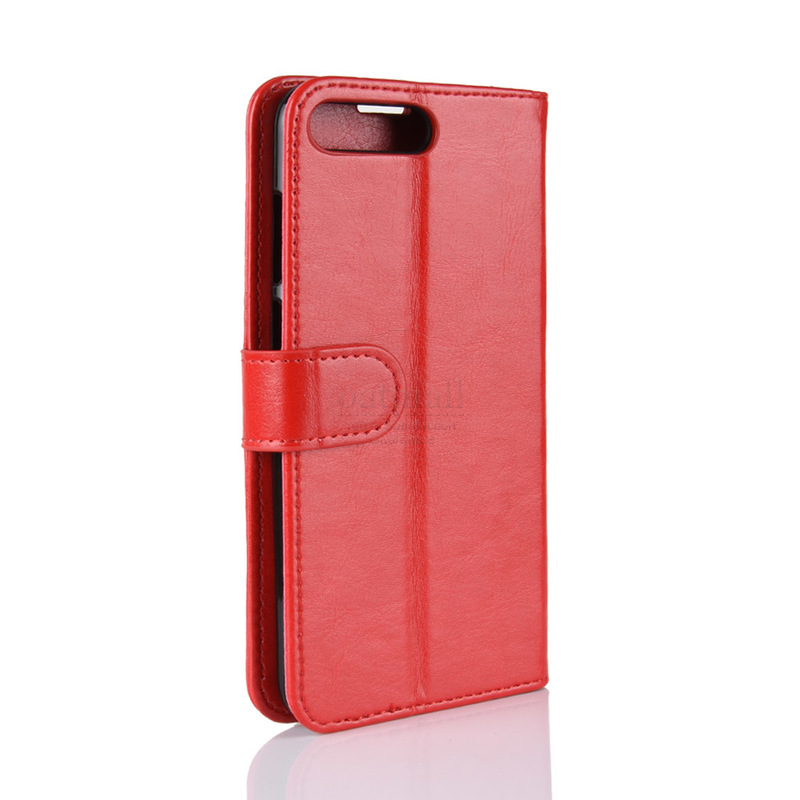 finest selection ede64 84f88 Huawei Y6 (2018) Plain Book Flip Cases